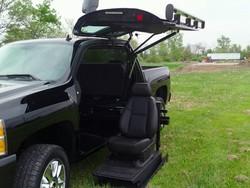 سیستم بالابر معلولان برای انواع خودروها