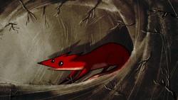 """""""The Fox"""" by Sadeq Javadi Nikjeh."""