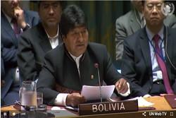 الرئيس البوليفي يدين السياسات والتهديدات الامريكية ضد إيران