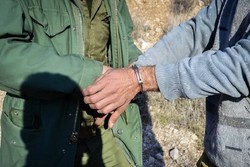 دستگیری متخلف شکار و صید در پناهگاه حیات وحش یخاب