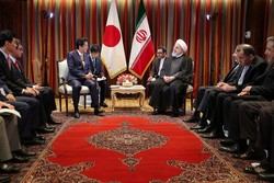 Iran's Rouhani, Japan's Abe discuss bilateral, regional, intl. issues