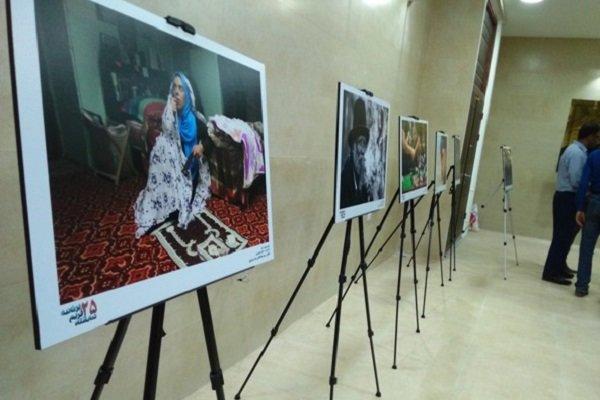 نمایشگاه عکس «۲۵ فریم بر ثانیه» در گناوه افتتاح شد