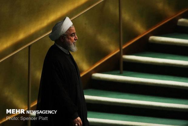 روحانی سمنان را ترک کرد/ پایان دو روز سفر پرکار