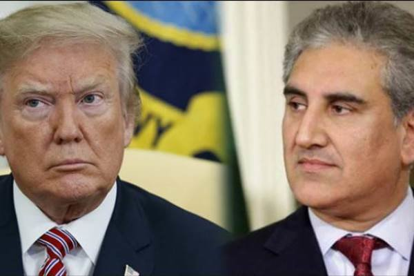 پاکستانی وزير خارجہ کی امریکی صدر سے ملاقات