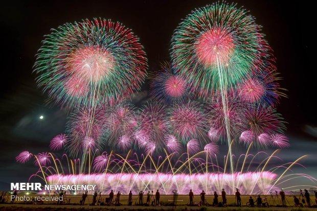 آتش بازی در ژاپن
