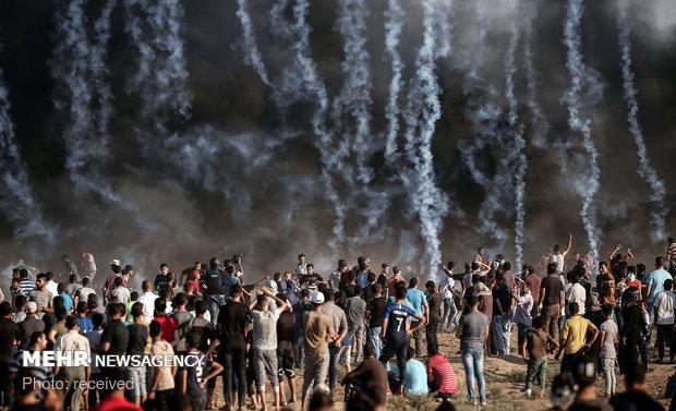 غزہ میں اسرائیلی فوج کی فائرنگ سے 6 فلسطینی شہید