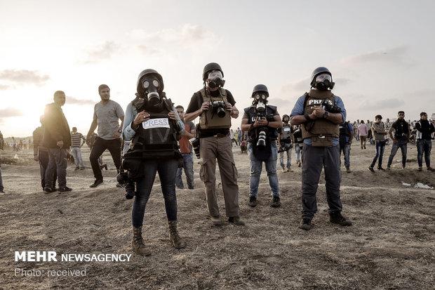 25 هفته اعتراض در غزه