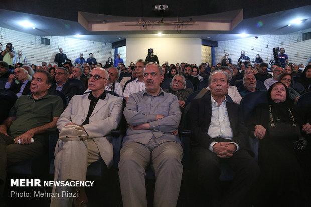 مراسم یادبود استاد عزت الله انتظامی در سالن سنگلج