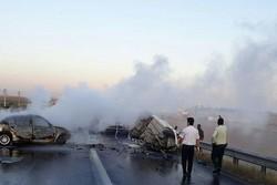 برخورد دو خودروی سواری در محور تبریز- ارومیه ۷ کشته درپی داشت