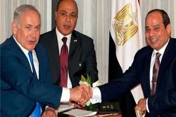 «السیسی» و «نتانیاهو» با یکدیگر دیدار کردند