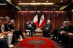 Tehran welcomes promoting ties with Rome in all fields