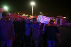انتقال پیکر مرحوم یدالله صمدی به تهران