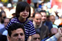 بزرگمرد کوچک ایران تشییع شد/ بوسه فرشتگان بر زخمهای محمدطاها