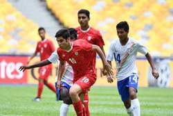 تیم فوتبال نوجوانان ایران حذف شد/ یک ستاره از فدراسیون کم شد!