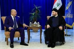 رایزنی «عمار حکیم» و «برهم صالح» درباره پرونده انتخاب رئیسجمهوری عراق