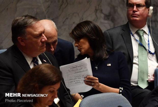 نشست شورای امنیت به ریاست ترامپ