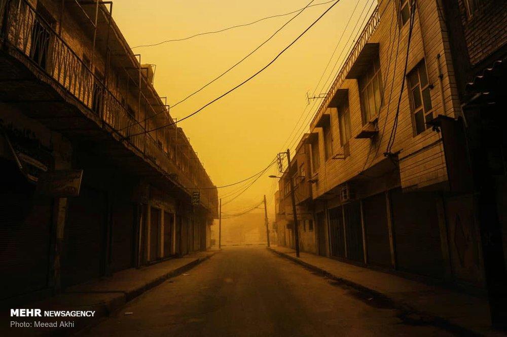 هشدار برای گرد و خاک در خوزستان صادر شد
