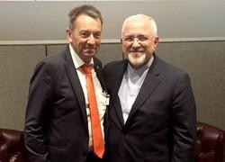 ظریف با رئیس کمیته بینالمللی صلیب سرخ جهانی دیدار کرد
