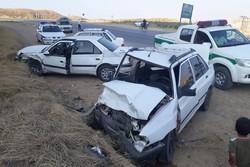 حوادث جادهای در محورهای استان مرکزی ۳ تن را به کام مرگ کشاند