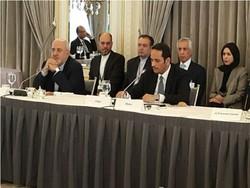 مجمع گفتگوهای آسیا به ریاست ظریف در نیویورک برگزار شد