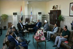 Iraqi Nineveh prov. officials call for strengthening ties with Iran
