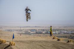 İran'daki motosiklet yarışmasından görüntüler