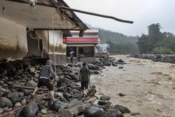 تالش کے دیہاتوں میں سیلاب سے نقصانات