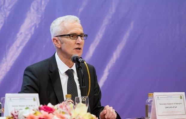 الأمين العام لمنظمة الانتربول يدين الهجوم الارهابي في الاهواز