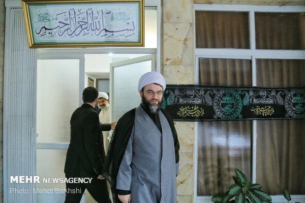 دیدار حجتالاسلام والمسلمین محمد قمی رئیس سازمان تبلیغات اسلامی با مراجع