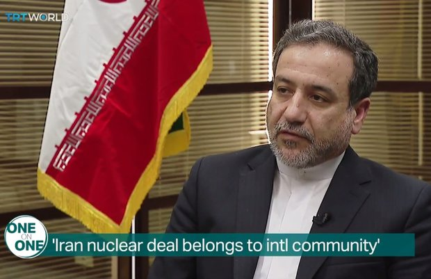 VIDEO: Araghchi says JCPOA belongs to intl. community