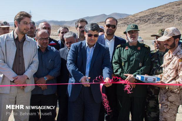 """افتتاح أكبر حلبة سباق موتوكروس في ايران بمدينة """"اراك"""""""
