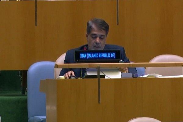 Iran fully aware of Israel's moves: UN envoy