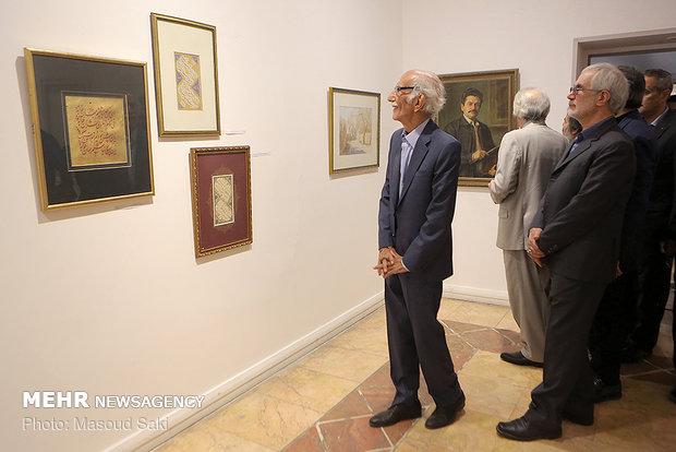 افتتاحیه نمایشگاه آثار چهره های ماندگار ایران