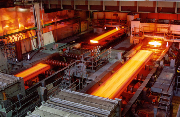Crude steel production in Iran rises by 10%