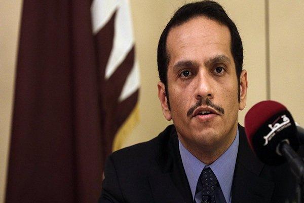 حمایت وزیر خارجه قطر از عملیات موسوم به «چشمه صلح» ترکیه