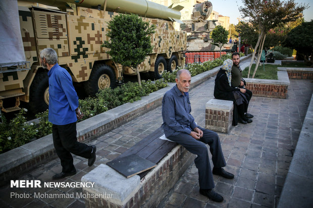 Sacred Defense exhibition in Tehran