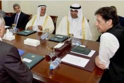 دیدار «عمران خان» با وزیر تجارت کویت