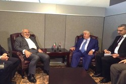 All of Zarif's sideline Fri. meetings in New York