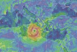 طوفان همراه با باد و باران شدید به ترکیه و یونان می رسد
