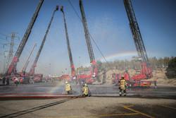 مانور عملیات چند جانبه و ترکیبی امداد و نجات در کیش برگزار شد