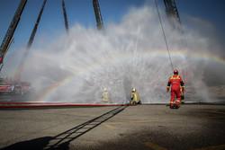 حضور آتشنشانان همدانی در ۷ عملیات امداد و نجات طی یک روز