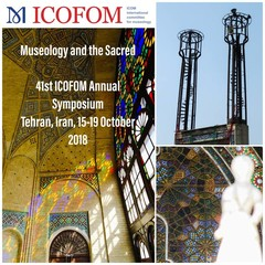A poster for the 41st ICOFOM Annual Symposium