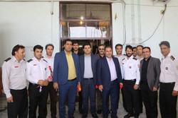 ترافیک گلستان یکی از موانع مهم در خدمات رسانی آتش نشانان بود