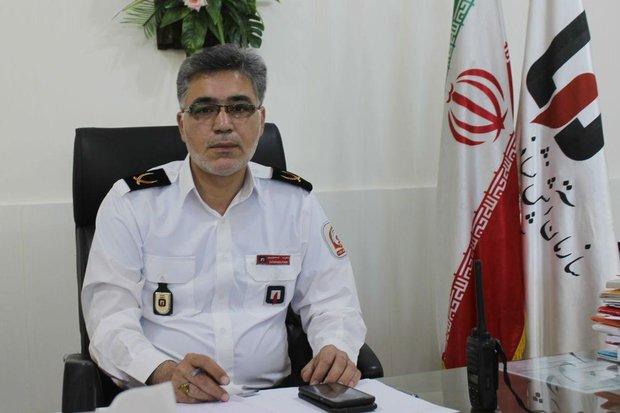وقوع ۱۸ مورد حادثه و حریق در سمنان/ ۲۳ نفر نجات یافتند