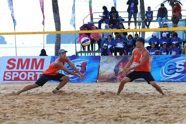 Iran runner-up at Asian Beach Volleyball C'ships