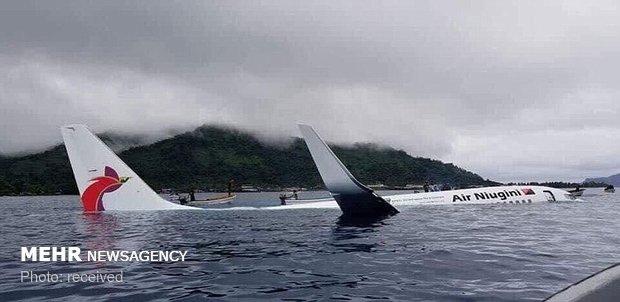 فرود هواپیما در آب