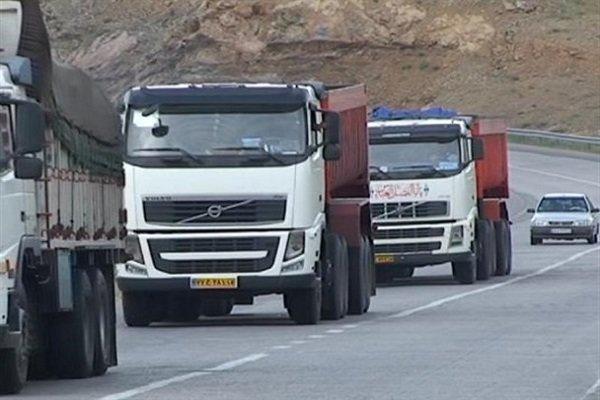 ثبت ۵میلیون تردد با کامیون در ۹ ماهه امسال/رشد۷.۶درصدی تردد