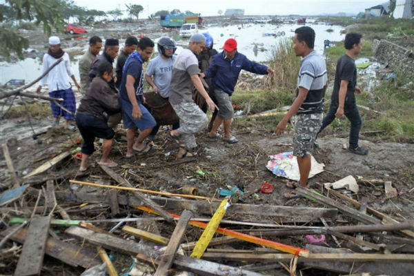 VIDEO: Deadly tsunami hits Indonesia