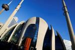 افتتاح یکی از بزرگترین مساجد اروپا در آلمان توسط اردوغان