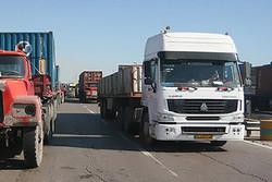 طرح تشدید برخورد با کامیون های پارک شده در معابر شهر ایلام